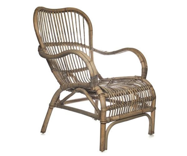 Плетёная мебель из ротанга белая