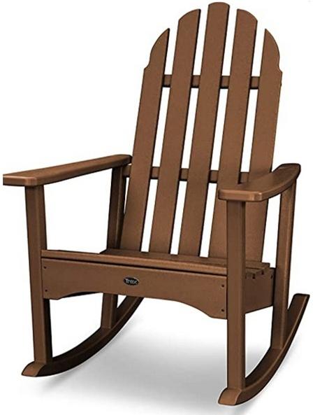 Кресло качалка дерево